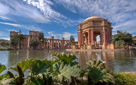 Palace of Fine Arts, San Francisco by Don Claybrook