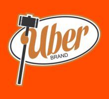 Uber Brand Logo Kids Clothes