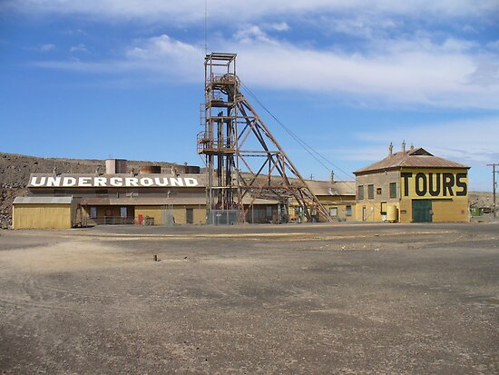Delprats Mine, Broken Hill, NSW by DashTravels