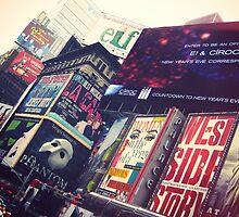 Times Square, New York City by Ashlee Betteridge