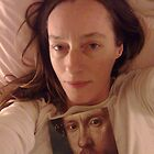 Self Portrait with an Elizabethan Face by Elorac