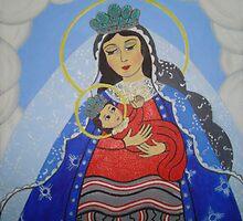 Madonna and Child by Jenina Carriaga-Lambert