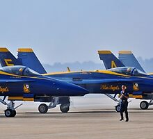 Blue Angles and Crew Start Up by GarethWilton