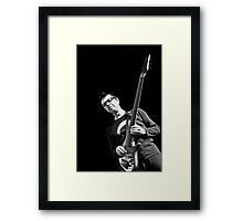 Holding the Sound (Alain Caron) Framed Print