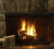 Fireplace by Scott Kennelly