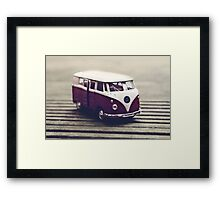 The world does not need tourists who ride by in a bus clucking their tongues Framed Print