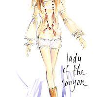 Lady Of The Canyon by jenniferlilya