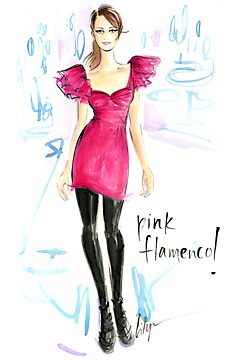 Pink Flamenco! by jenniferlilya