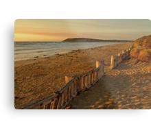 Sunrise Raafs Beach Metal Print