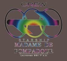 SS Madame De Pompadour - Crew Wear (Gradient) Kids Clothes