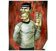 Mister Spock Poster
