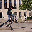 Skateboarders in DC by Ashlee Betteridge