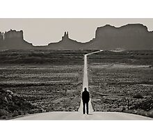Self Portrait, Monument Valley, Utah Photographic Print
