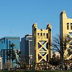 Sacramento cityscape, West Sacramento aspect by Lenny La Rue, IPA