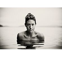 Ali, Lake Saint George, Maine Photographic Print