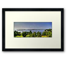 Lake of the Woods (Panorama) Framed Print