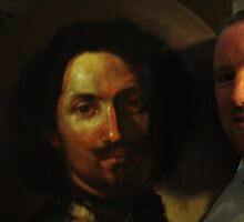 Painting study of Rembrandt by Jedika