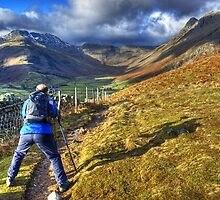 Bradley Straddles The Path by VoluntaryRanger