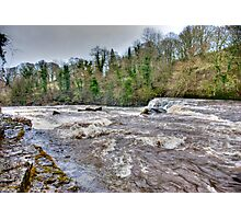River Ure - Aysgarth-Yorks Dales Photographic Print