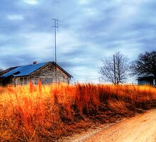 Farm House - Montague County, Texas by jphall
