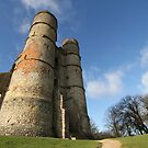 Donnington Castle by Samantha Higgs