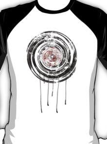 Vinyl Records Retro Urban Grunge Design T-Shirt