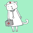Kitty Cat Nurse by zoel