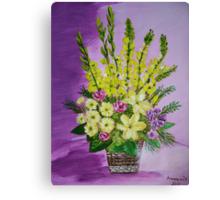 Basket full of Joy Canvas Print