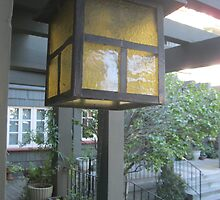 Lantern and the Garden courtyard patio by kevin seraphin