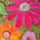 Glory All Around Flower Art by karenfields