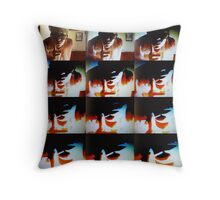 Experiment in Generational Loss Throw Pillow