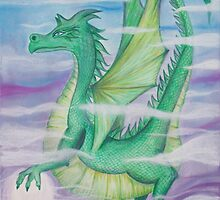 dragon in the mist by Diane  Andrasic