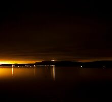City lights by ArnarBergur