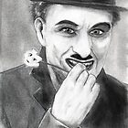  CHAPLIN ! HIS SILENCE  WAS GOLDEN . by razar1
