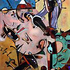 Homage to Miro by jhchen