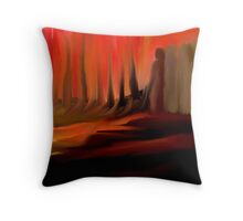 DON'T LOOK BACK!! Throw Pillow