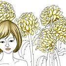 Sketch 4 ... chrysanthemum by littlearty