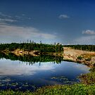 PERCY LAKE-HDR by Larry Trupp