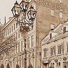 Hotel Nelson - line art by PhotosByHealy