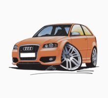 Audi S3 (Mk2) Orange by Richard Yeomans