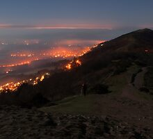 Moonlight on the Malverns by Cliff Williams