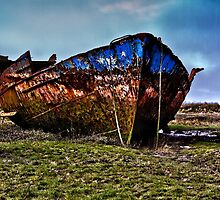 Rusting Hulk by Peter Stone