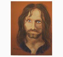 Aragorn, smaller version by Hilary Robinson