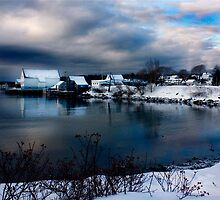 Lowell Cove in Winter by moosewinks