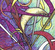 Flamingo II by Sally O'Dell