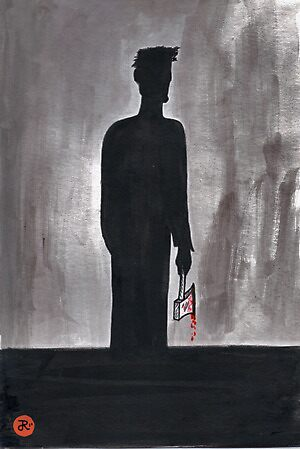 Silhouette Man by Jarrad .