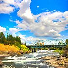 &quot;Spokane Falls - Spokane, WA&quot; by Whitney Mason