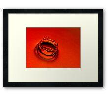 Orange Candy Framed Print