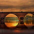 The Dordogne River . by Irene  Burdell