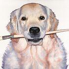 Arts & Dogs - Dog Portraits by Nicole Zeug by Nicole Zeug